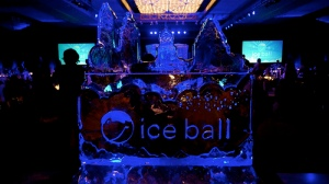 The breathtaking ballroom at Ice Ball 2013!