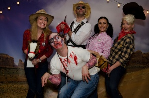 The Rackspace cowboys and zombies!