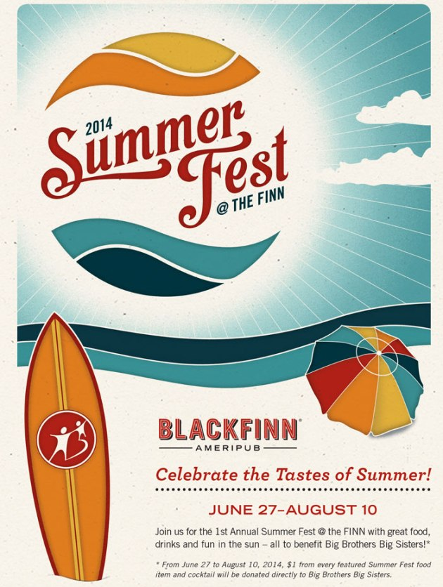 Blackfinn Summer at the Finn
