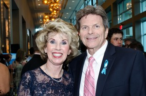 """Connie and Bill Nelson - """"Big Couple"""" and Event Committee Chairs for Ice Ball 2014."""